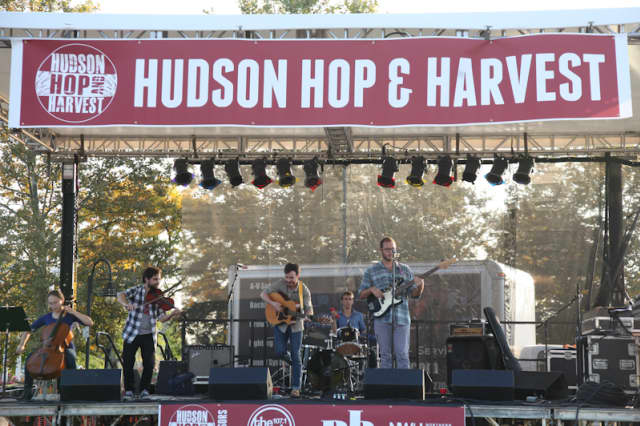 Live music, craft beers and local farm to table food are the highlight of the 3rd Annual Hudson Hop & Harvest which this year is going green.
