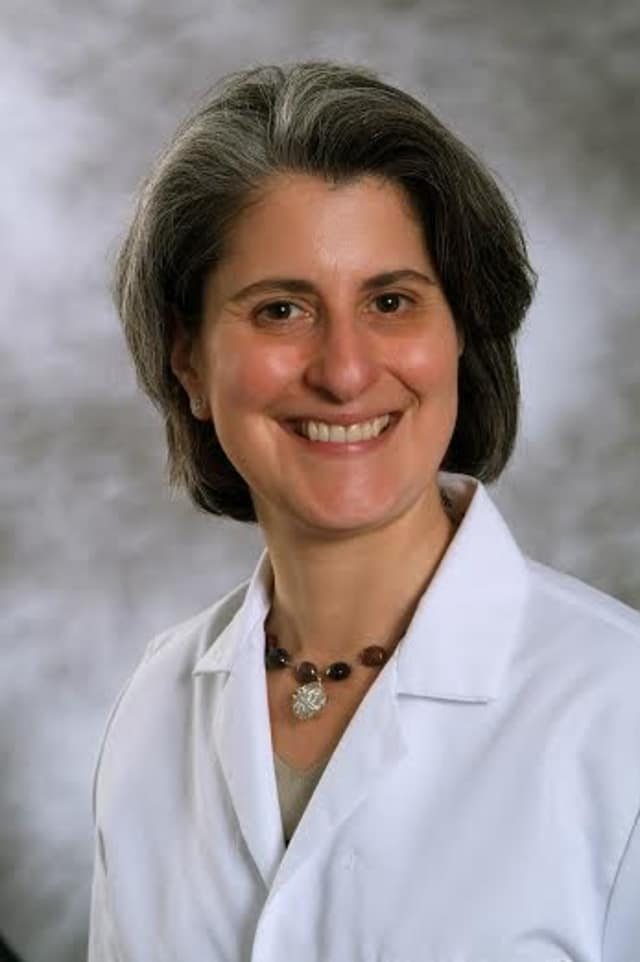 Dr. Elisa E. Burns, a gynecologic surgeon and director of quality and outcomes for the Institute for Robotic and Minimally Invasive Surgery at Northern Westchester Hospital.
