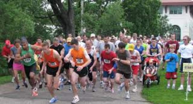 Participate in a five mile race at Muscoot Farm.
