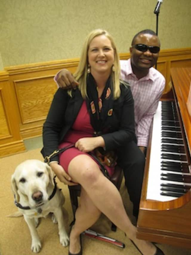 Amy Dixon and Blessing Offor will be part of Guiding Eyes annual wine tasting from 3 p.m. to 6 p.m. on Sunday Oct. 5 at 611 Granite Springs Road.