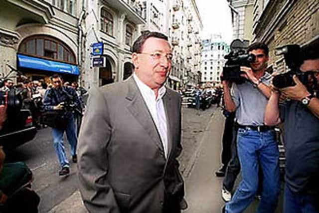Vladimir Aleksandrovich Gusinsky turns 62 on Monday.