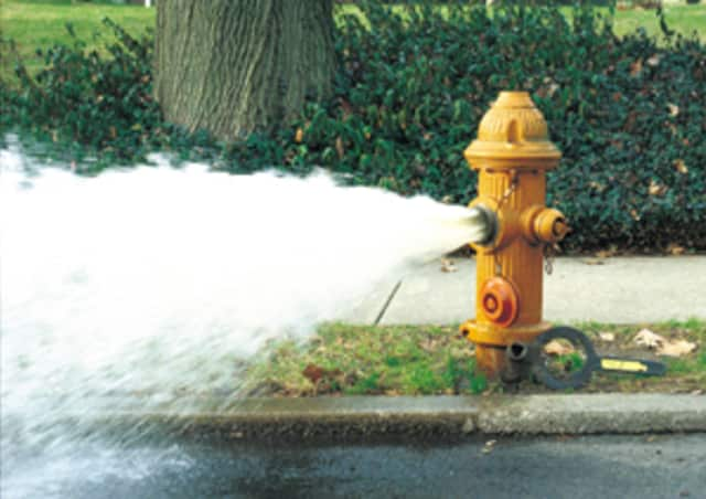 Fire hydrant flushing will take place to ensure that they are all operational.