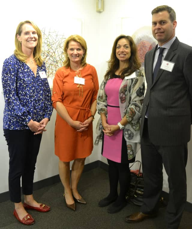 Four board members pictured are : Fiona Dogan Jennifer Howard Suzanna Keith Rob Weber.  Tracey Carter was not available for the photo.