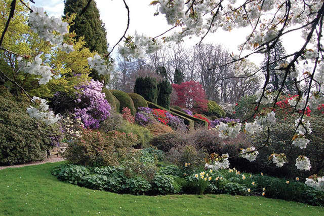 The program provides a video tour of various Scotland gardens.