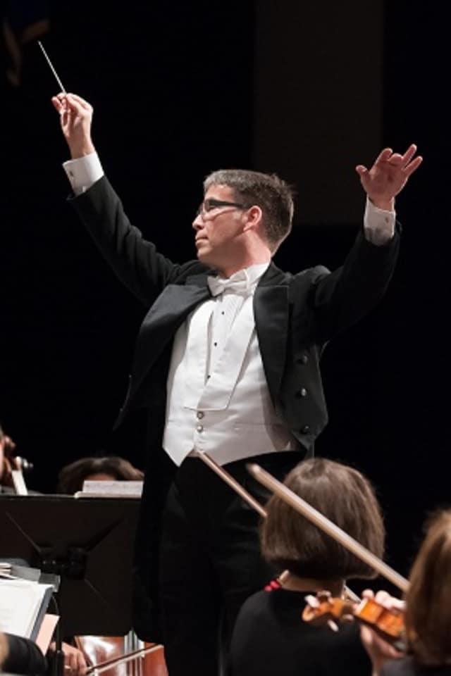 Ridgefield Symphony Orchestra Maestro Steichen