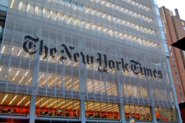 Rutherford residents can now read the New York times online for free courtesy of the Rutherford Library.