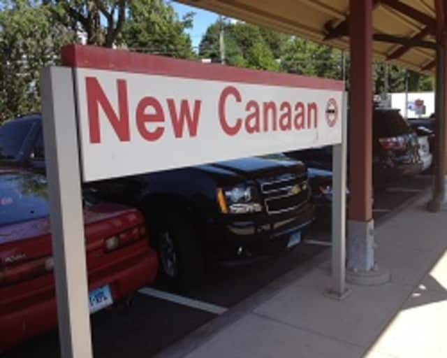 Buses will run instead of trains Friday evening and all weekend along the New Canaan Branch.