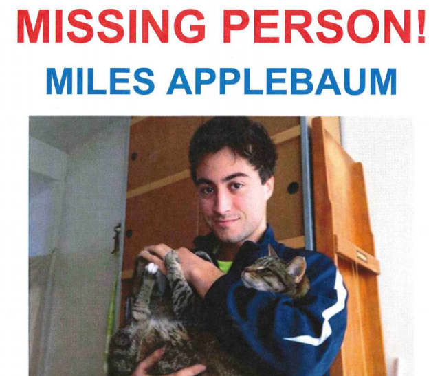 A screen shot of a flyer for Armonk's Miles Applebaum.