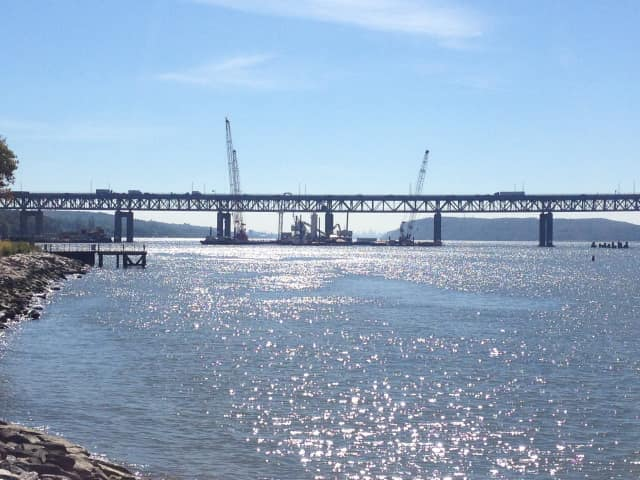 Construction on the Tappan Zee will delay trains on the Metro-North Hudson Line from Friday night to early Saturday morning.