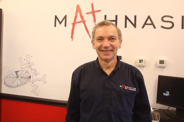 David Lubner is the center director for Mathnasium of Darien, Conn.