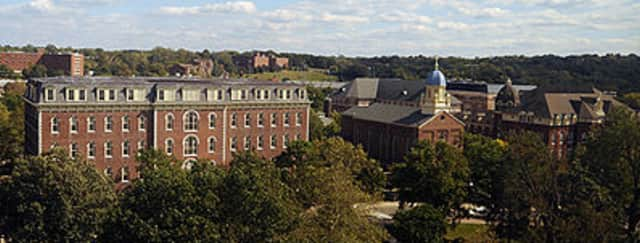 Wilton resident Grace Legan began her collegiate studies at the University of Dayton in August.