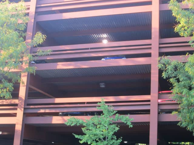 A man hung himself from a parking garage in Peekskill.