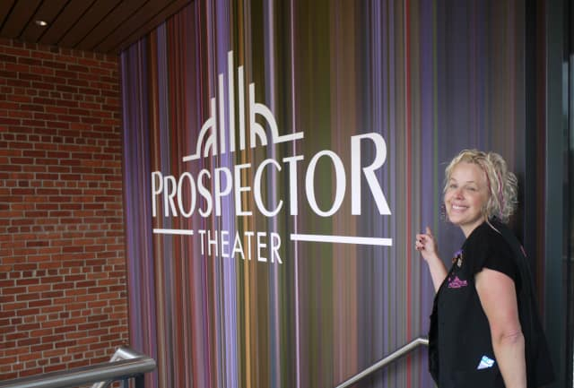 The Prospector Theater in Ridgefield is dedicated to finding jobs for people with disabilities. Valerie Jensen of Ridgefield is the founder of the Prospector Theater.