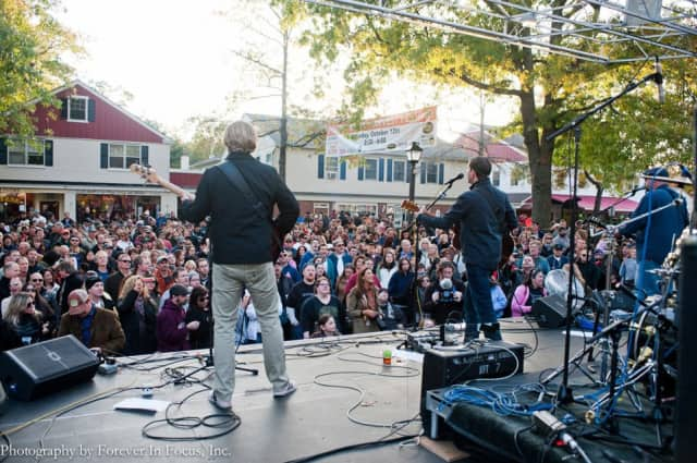 Music is a big part of the Pound Ridge Harvest Festival.