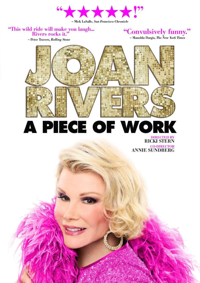 """The Darien Library will host a screening of the Joan Rivers documentary """"A Piece of Work."""""""