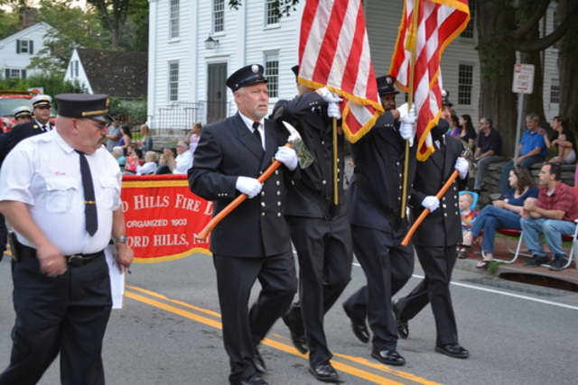 Bedford Hills firefighters will offer fire truck rides and live demonstrations.