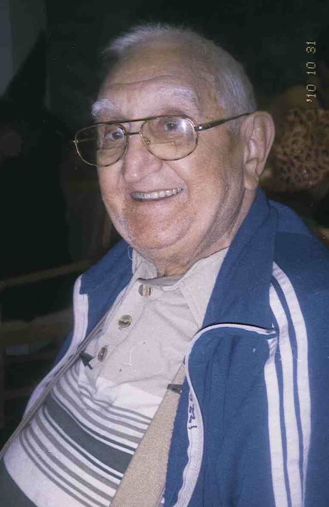 Anthony Tozzi, 98, of Hastings-on-Hudson is a veteran of World War II.