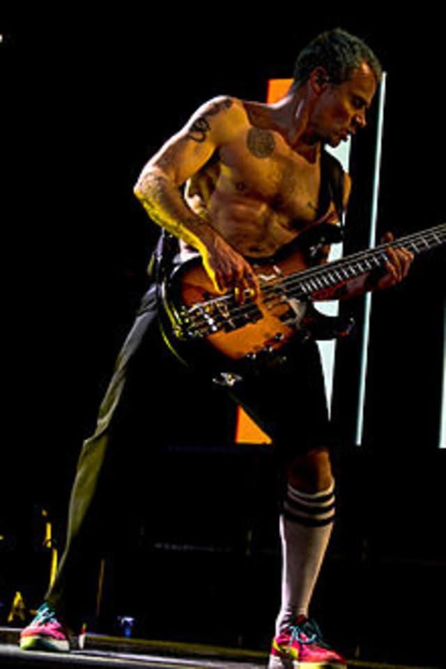 "Michael ""Flea"" Balzary turns 52 on Thursday."