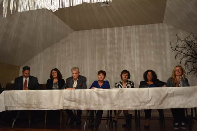 Panelists at the Oct. 7 drug forum at the Somers Community Center were told the school system has not dealt well with drug use.