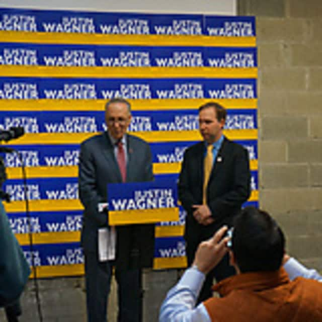 Sen. Chuck Schumer recently endorsed Justin Wagner for state Senate.