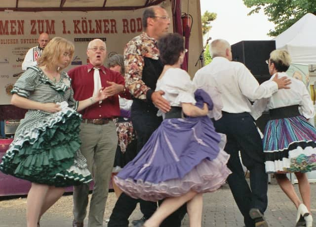 Square dancing is among activities scheduled throughout North Salem on Saturday.