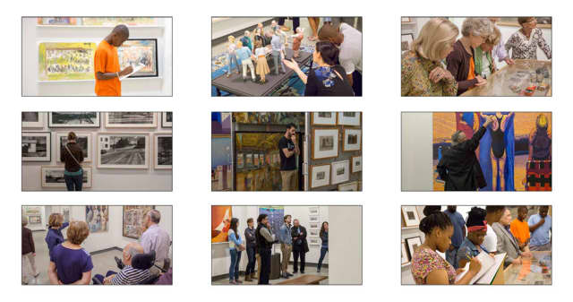 The William Louis-Dreyfus Foundation opens its gallery to benefit Horace Greeley High School's Scholarship Fund.