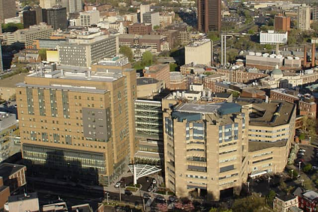 A former medical resident at Yale-New Haven Hospital is facing charges for illegally distributing medication.