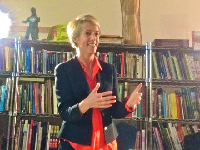 Zephyr Teachout, a college law professor who, in 2014, sought the Democratic nomination for governor in New York, is now seeking a spot in Congress representing the 19th District. Teachout, who was raised in rural Vermont, lives in Dover Plains.