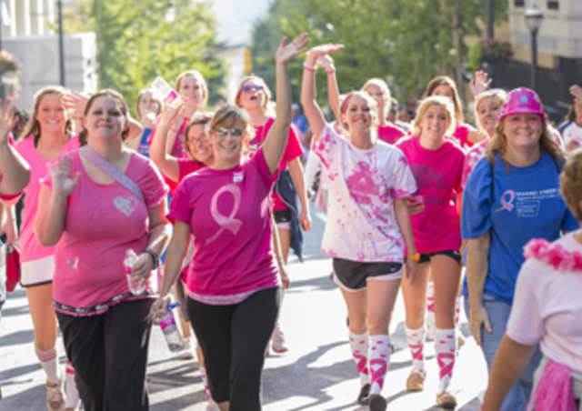 The American Cancer Society Making Strides Against Breast Cancer walk of Westchester will be held Sunday at Manhattanville College.