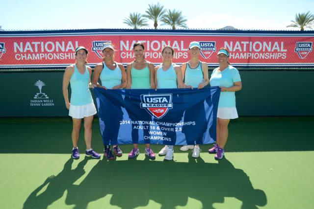 Chappaqua's team, from left, Kelly Slomsky, Denise Stogsdill, Jackie Leopold, Stephanie Casper, Alice Coleman and Jennifer Sheehy.