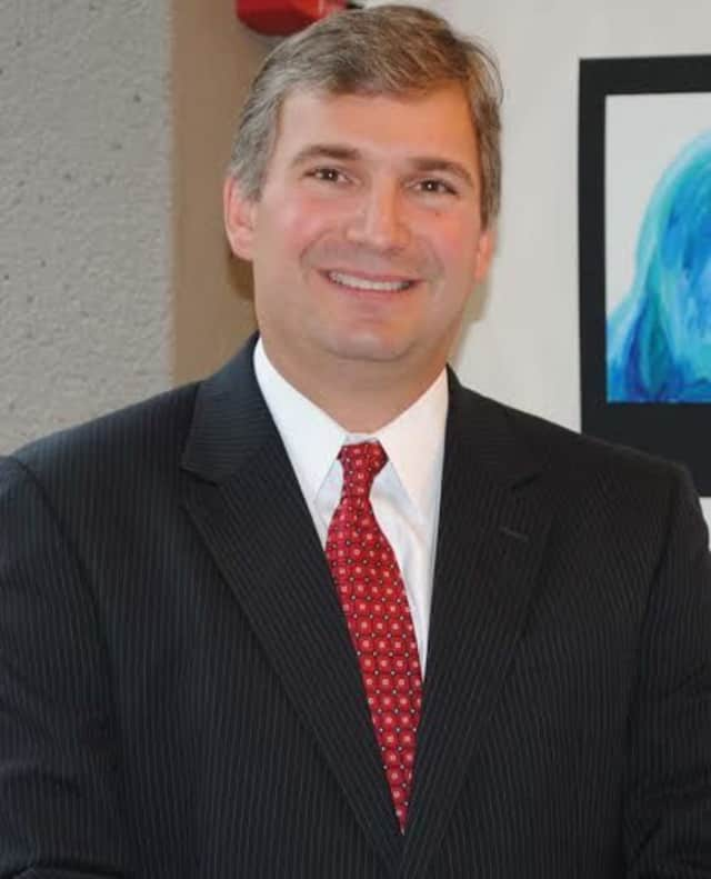 Bryan Luizzi, superintendent of schools for New Canaan