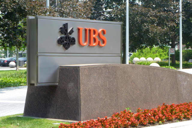 UBS has placed its Stamford building on the market for lease.