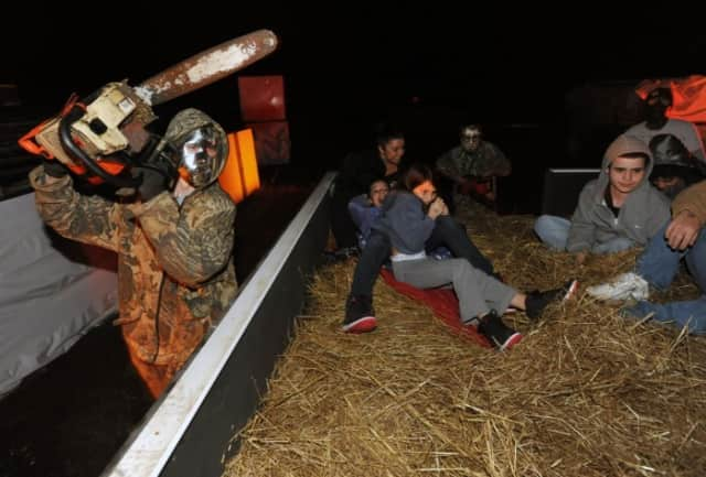 Ossining hopes its haunted hayride will get people in the Halloween spirit.