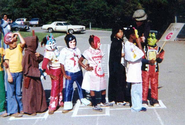 Katonah's Halloween parade arrives.