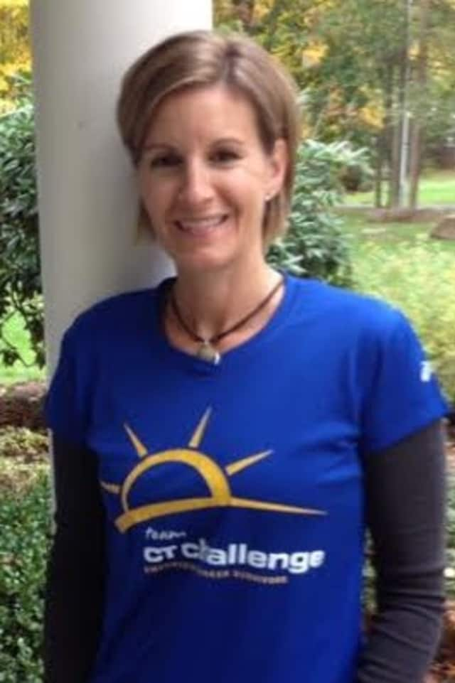 Lisa Schneider of Wilton will run the TCS New York City Marathon for the second time on Sunday, Nov. 2.