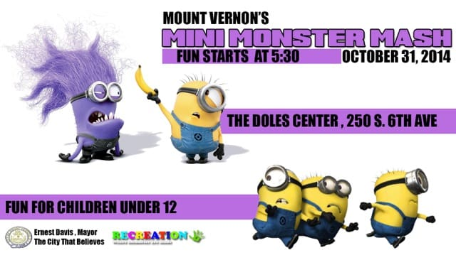 The Doles Community Center is hosting the fourth annual Halloween Mini Monster Mash on Friday, Oct. 31.