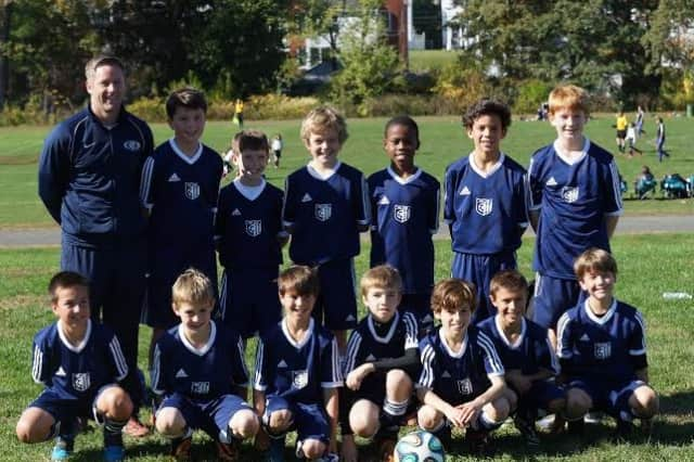 The Wilton under-11 boys soccer team reached the championship game of the Connecticut Cup. See story for IDs.
