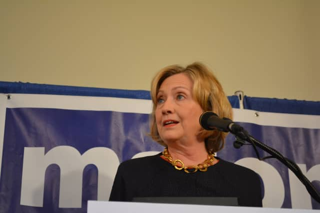 Hillary Clinton, pictured at 2014 event.