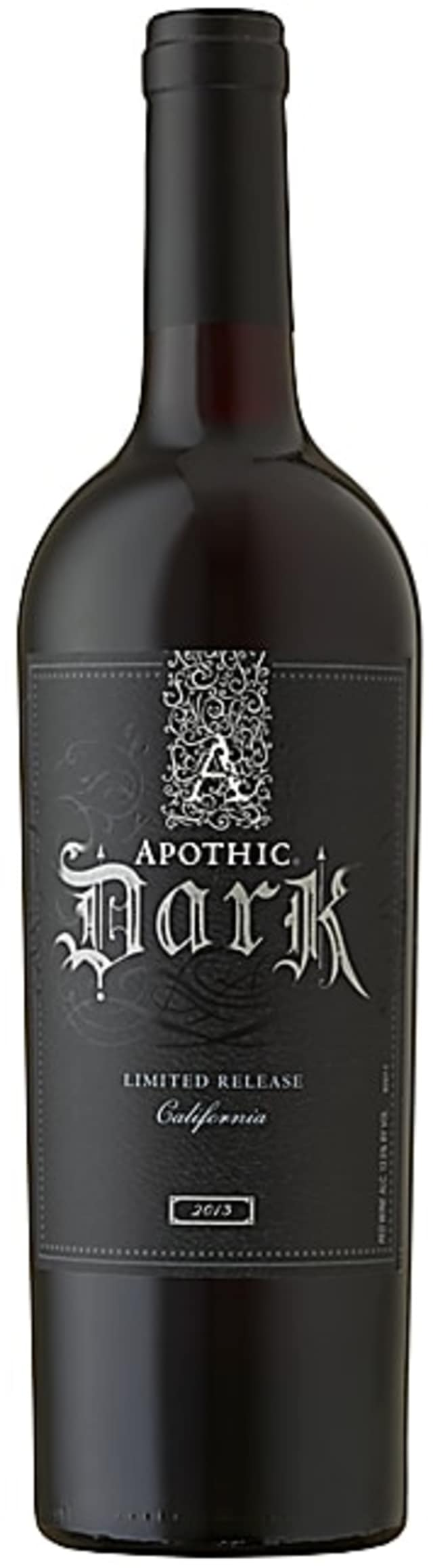The $14 Apothic Dark is sold in limited editions.