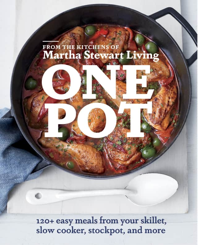 Martha Stewart's latest book is all about making meals in one pot.