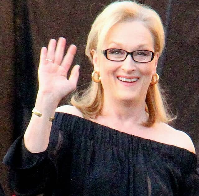 Meryl Streep is filming a new motion picture in Yonkers.