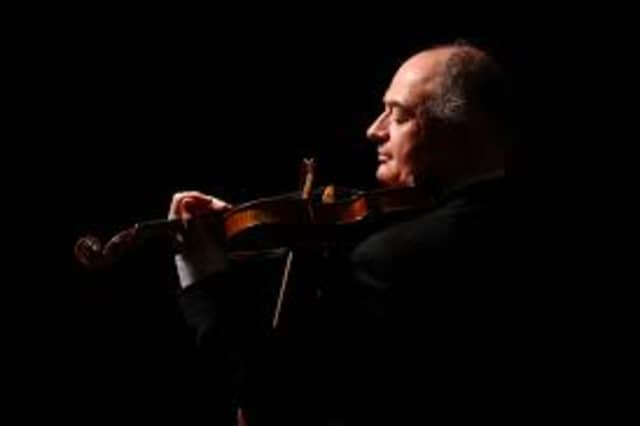 Violinist Ilya Kaler will be in concert with Stamford Symphony.