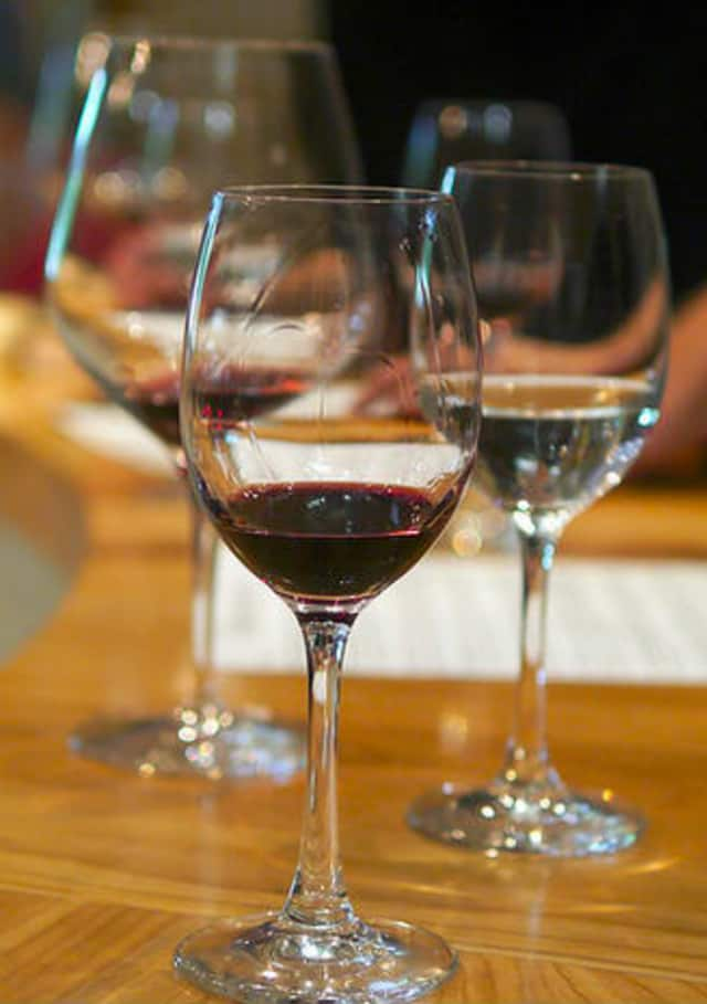 Wine taste with Somers Education Foundation to benefit school children.
