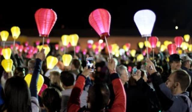 The Westchester County Light the Night Walk will take place on Saturday, Nov. 1, at Playland Amusement Park in Rye.