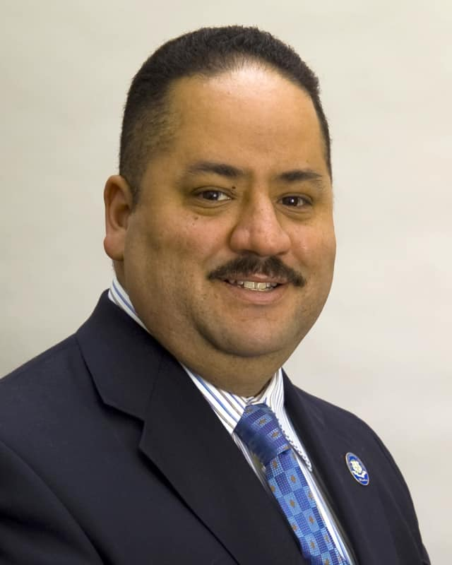 Andres Ayala Jr. resigned from the state Senate last year when he accepted the job of DMV commissioner.