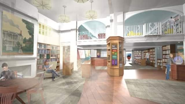 The Larchmont Public Library plans to undergo a renovation.
