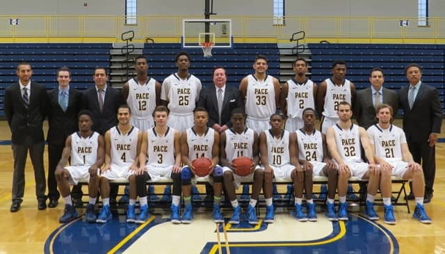 The Pace University men's basketball team