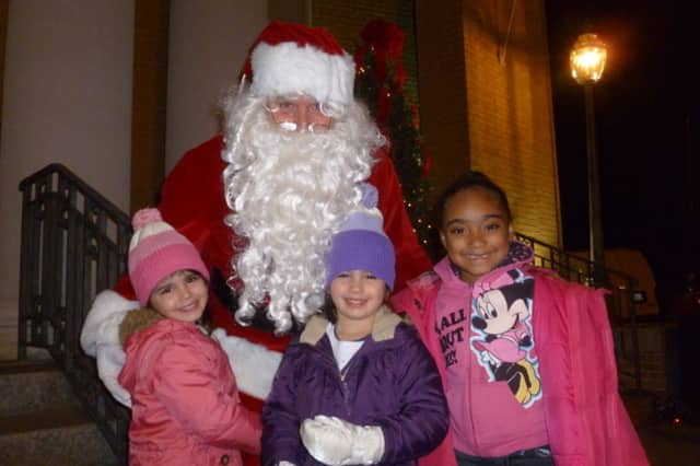 Santa Claus has been known to make an appearance at Winterfest in Tuckahoe each year.