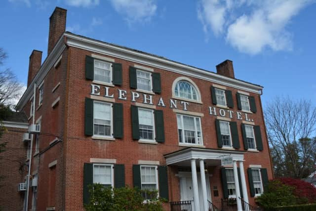 The Elephant Hotel in downtown Somers.