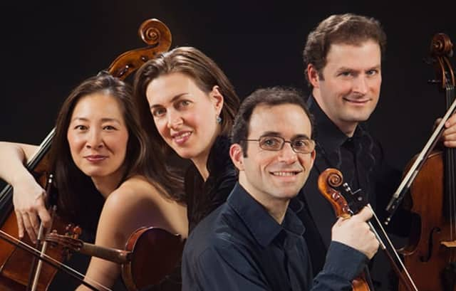 The Brentano Quartet.